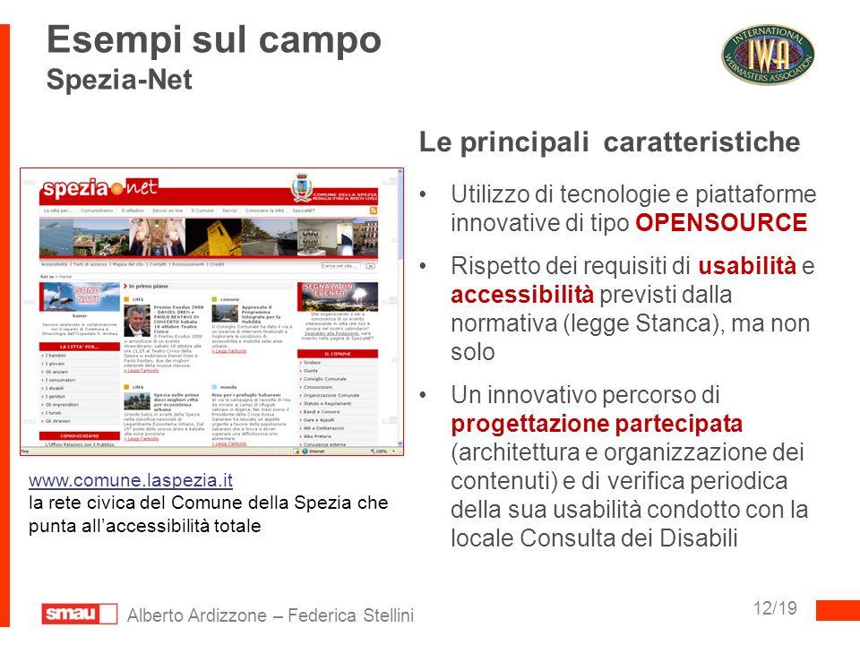 Esempi sul campo Spezia-Net