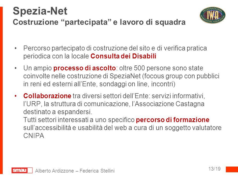 Spezia-Net Costruzione partecipata e lavoro di squadra