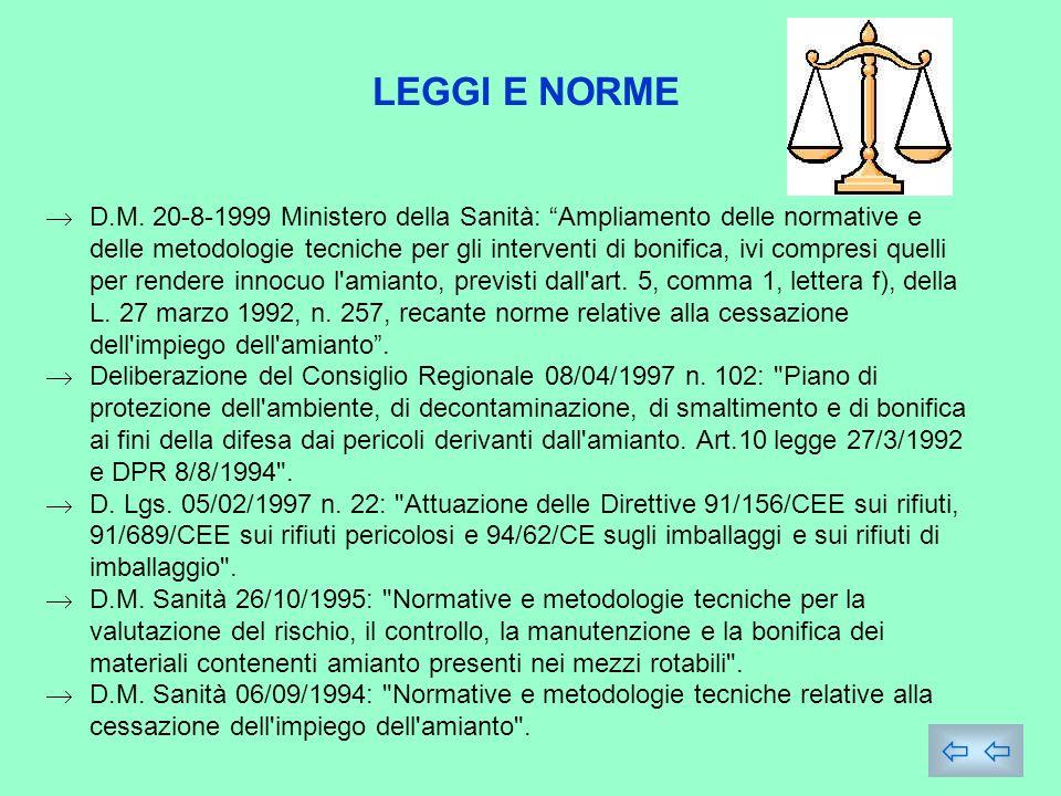 LEGGI E NORME