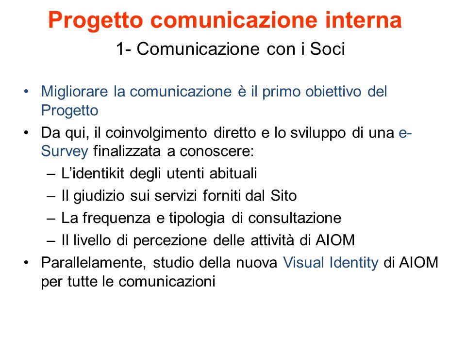 1- Comunicazione con i Soci
