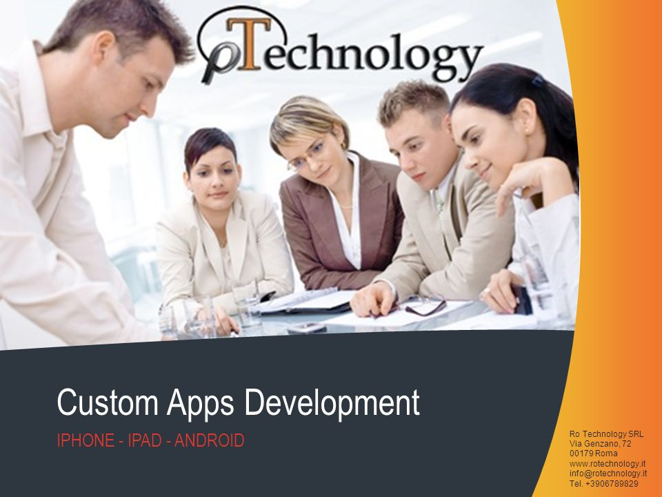 Custom Apps Development
