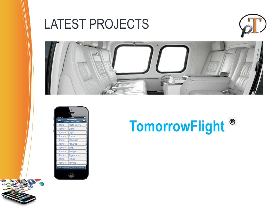 LATEST PROJECTS TomorrowFlight