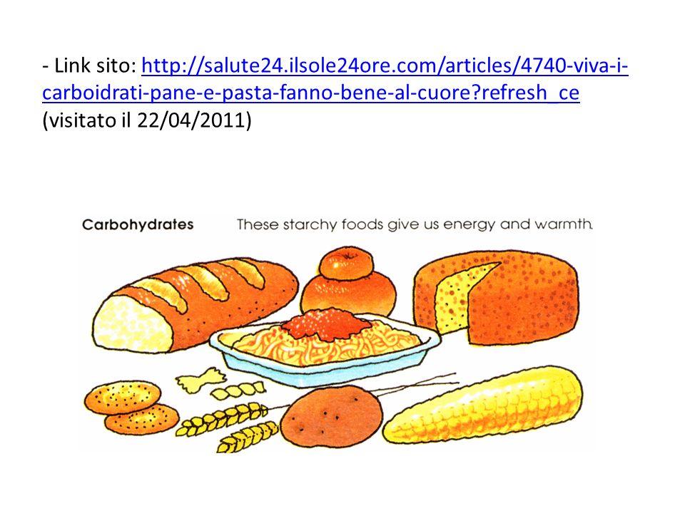 - Link sito: http://salute24. ilsole24ore