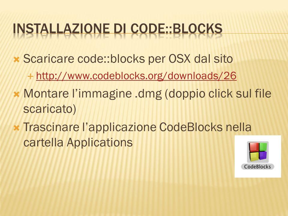 Installazione Di CODE::BLOCKS