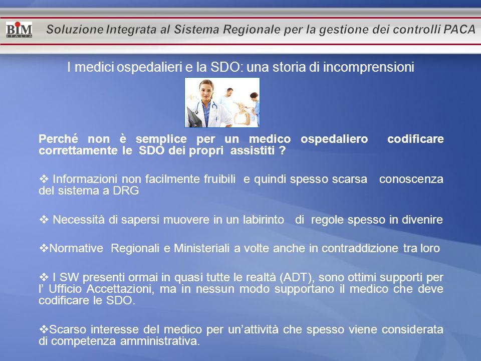 I medici ospedalieri e la SDO: una storia di incomprensioni