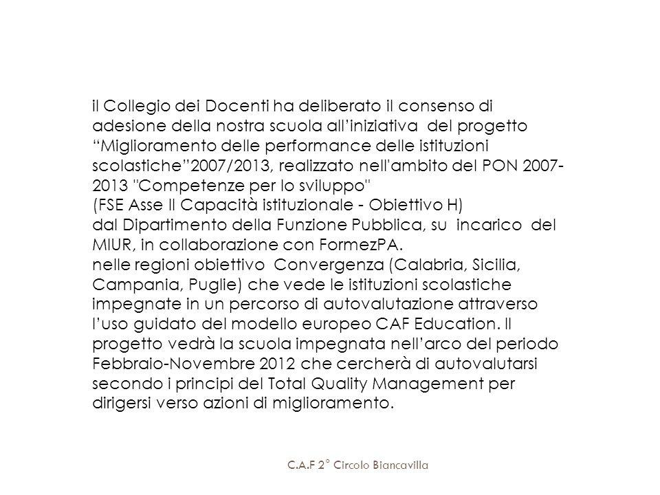 (FSE Asse II Capacità istituzionale - Obiettivo H)