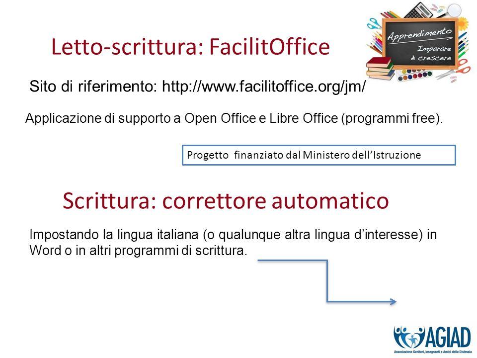 Letto-scrittura: FacilitOffice