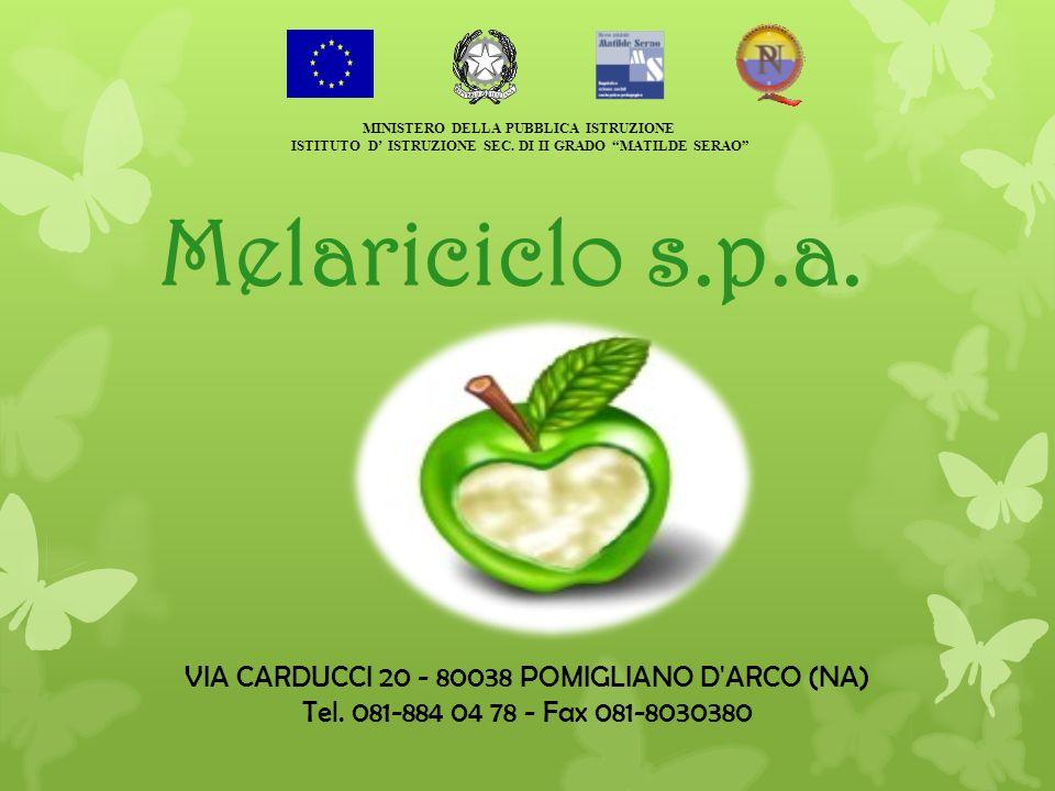 Melariciclo s.p.a. VIA CARDUCCI 20 - 80038 POMIGLIANO D ARCO (NA)