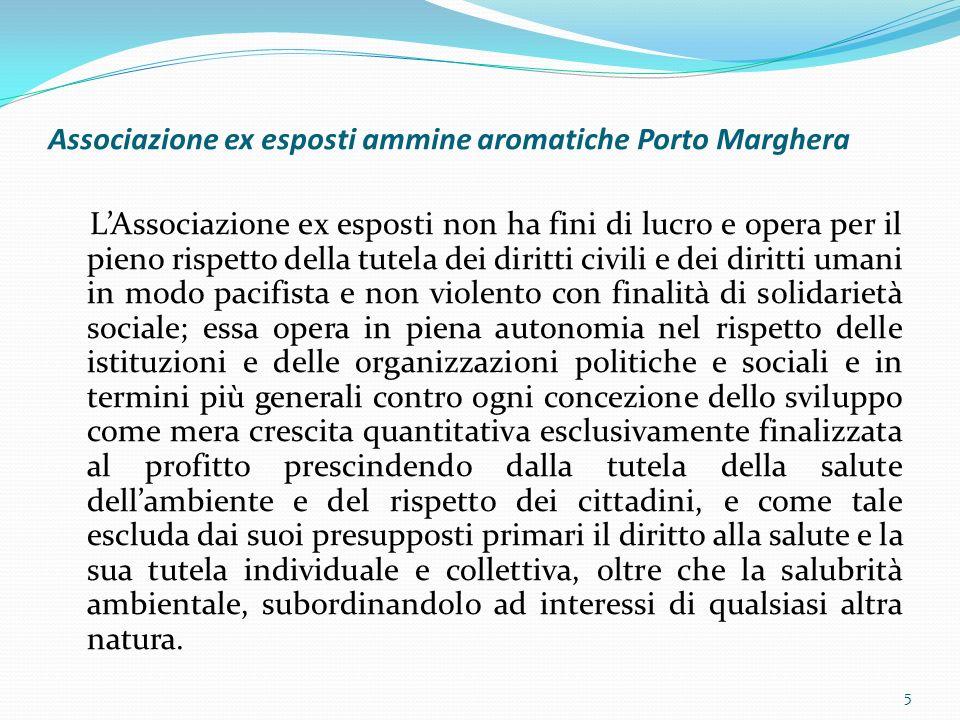 Associazione ex esposti ammine aromatiche Porto Marghera