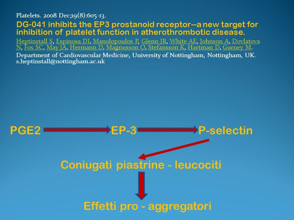 Coniugati piastrine - leucociti