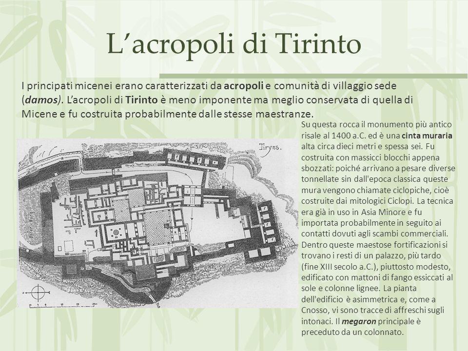L'acropoli di Tirinto