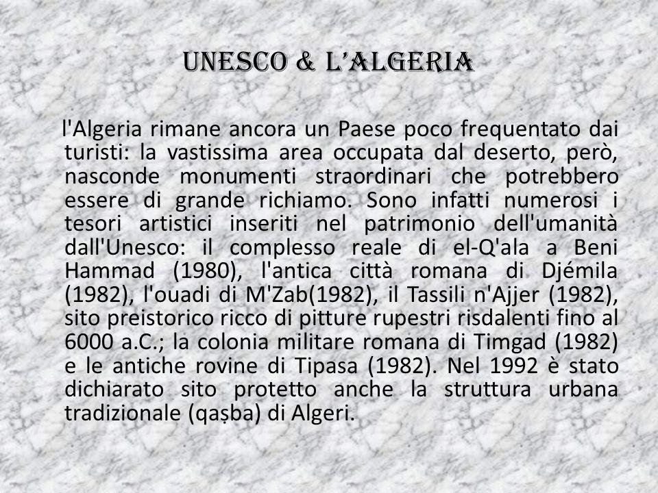 UNESCO & L'ALGERIA
