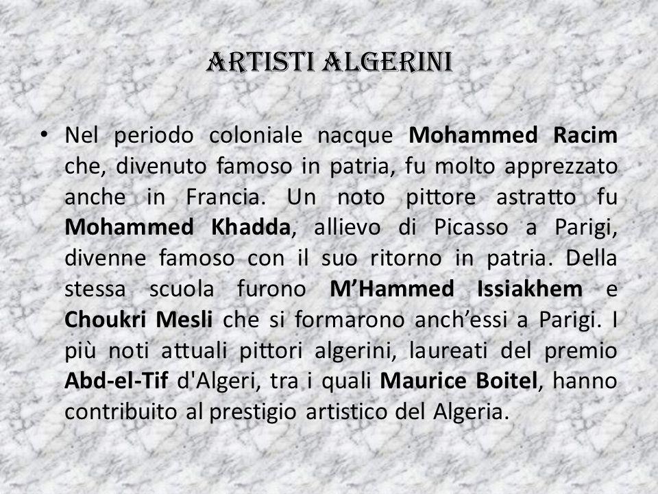 Artisti algerini