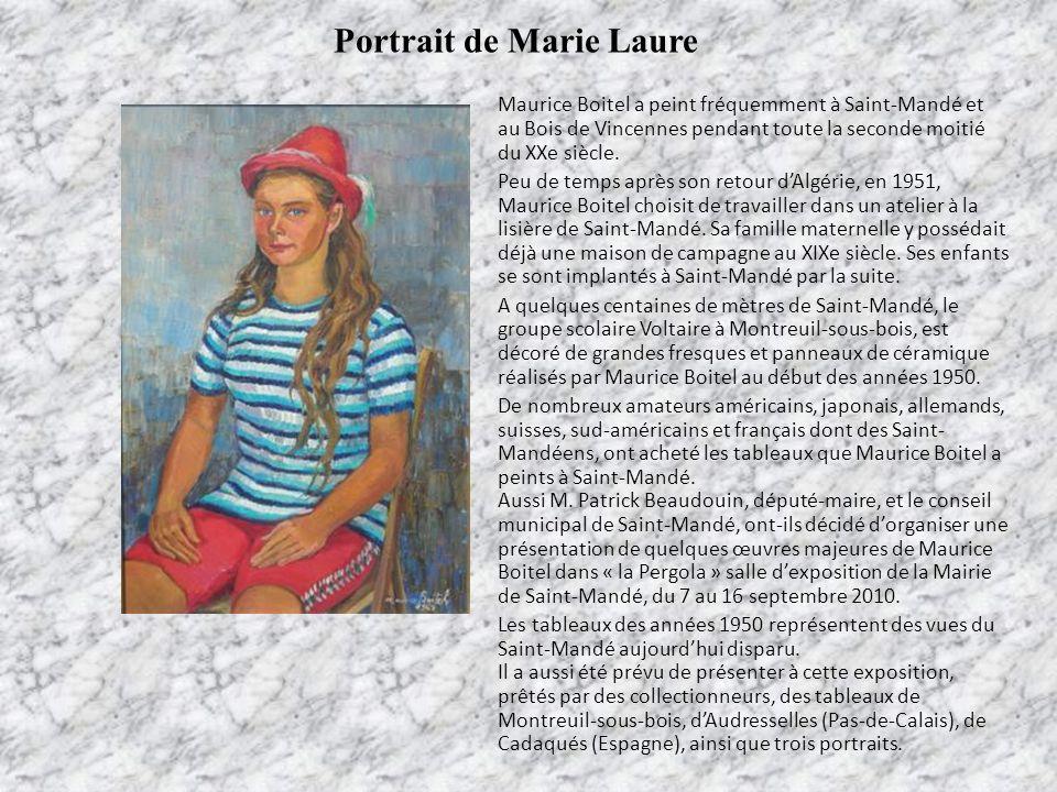 Portrait de Marie Laure