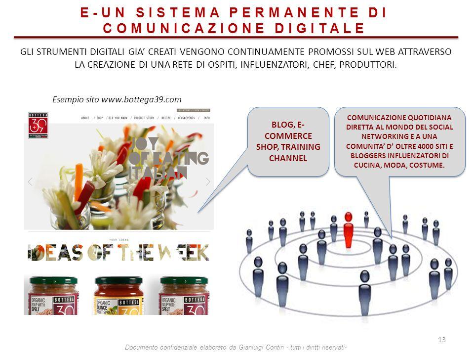 E-UN SISTEMA PERMANENTE DI COMUNICAZIONE DIGITALE