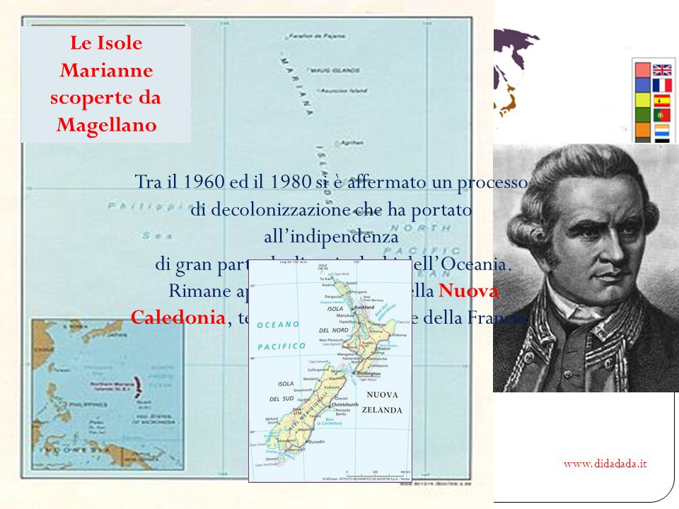 Le Isole Marianne scoperte da Magellano