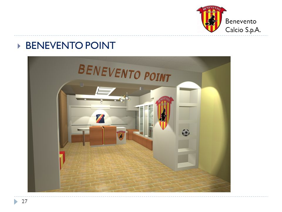 Benevento Calcio S.p.A. BENEVENTO POINT