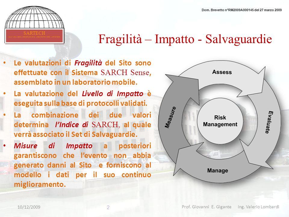 Fragilità – Impatto - Salvaguardie