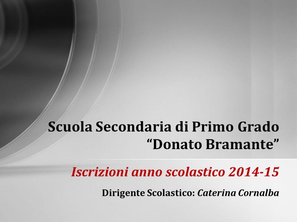 Scuola Secondaria di Primo Grado Donato Bramante