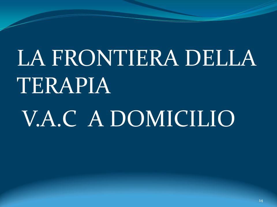 LA FRONTIERA DELLA TERAPIA V.A.C A DOMICILIO