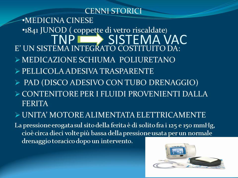 TNP SISTEMA VAC CENNI STORICI MEDICINA CINESE