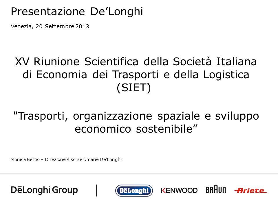 Presentazione De'Longhi