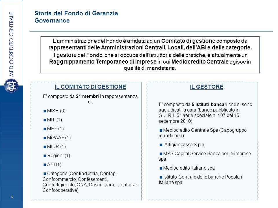 Storia del Fondo di Garanzia Governance