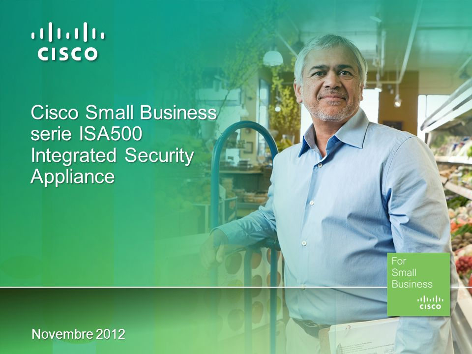 Cisco Small Business serie ISA500 Integrated Security Appliance