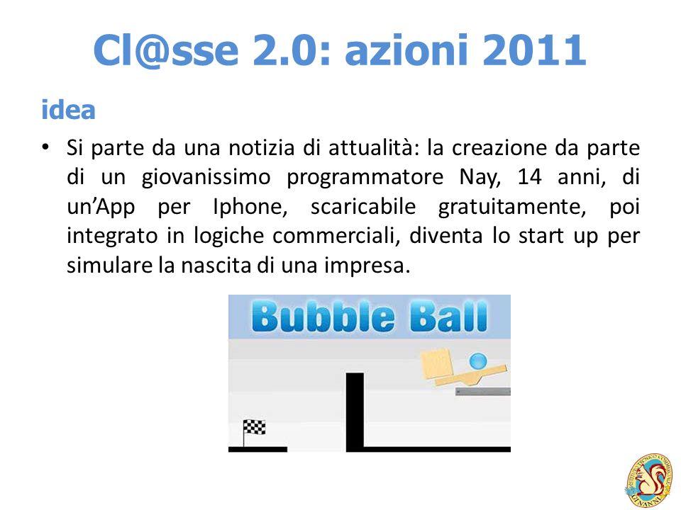 Cl@sse 2.0: azioni 2011 idea.