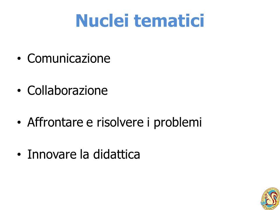 Nuclei tematici Comunicazione Collaborazione