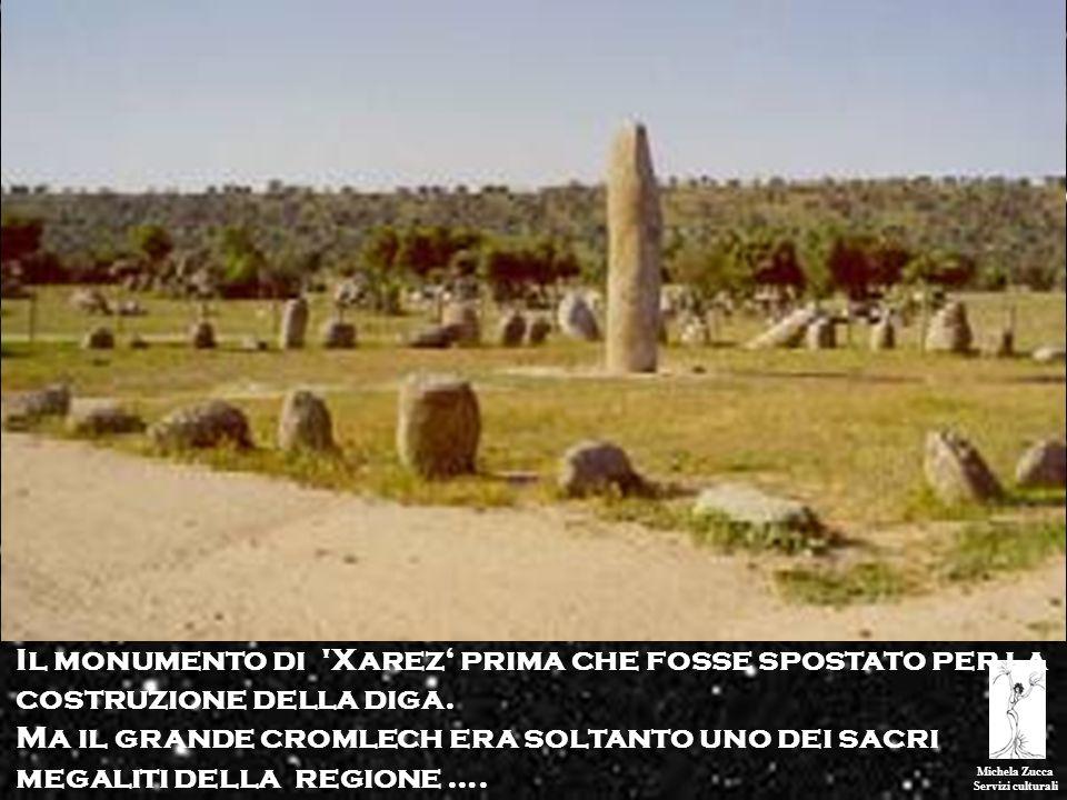 Il monumento di Xarez' prima che fosse spostato per la costruzione della diga.