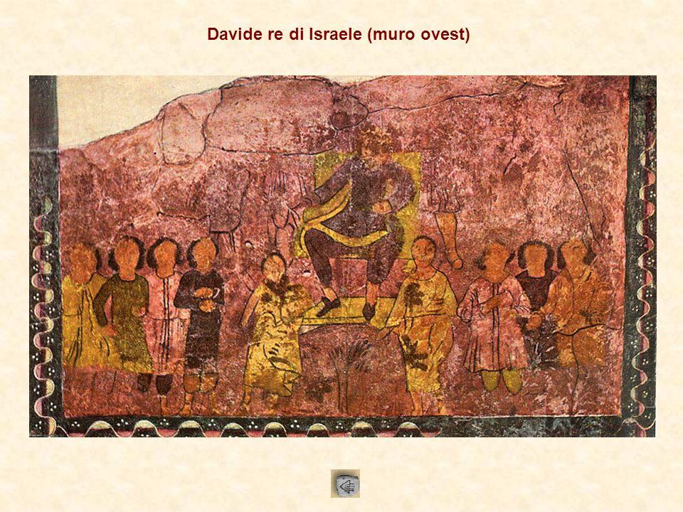 Davide re di Israele (muro ovest)