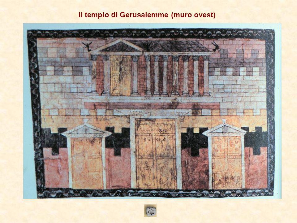 Il tempio di Gerusalemme (muro ovest)