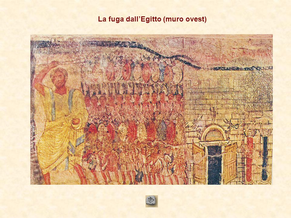 La fuga dall'Egitto (muro ovest)