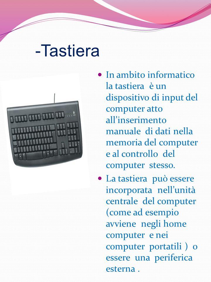 -Tastiera