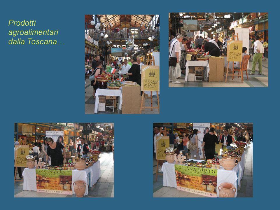 Prodotti agroalimentari dalla Toscana…