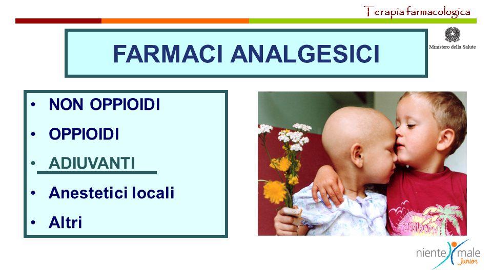 FARMACI ANALGESICI NON OPPIOIDI OPPIOIDI ADIUVANTI Anestetici locali