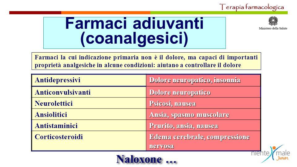 Farmaci adiuvanti (coanalgesici)