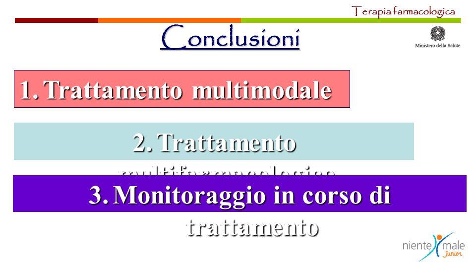 Trattamento multifarmacologico Monitoraggio in corso di trattamento