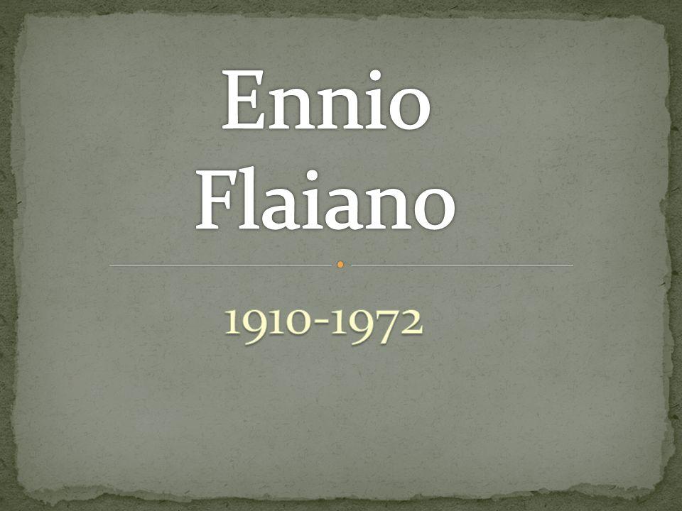Ennio Flaiano 1910-1972