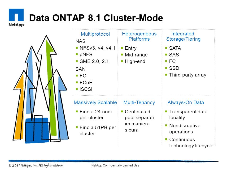 Data ONTAP 8.1 Cluster-Mode