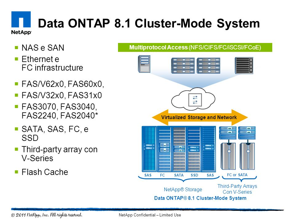 Data ONTAP 8.1 Cluster-Mode System
