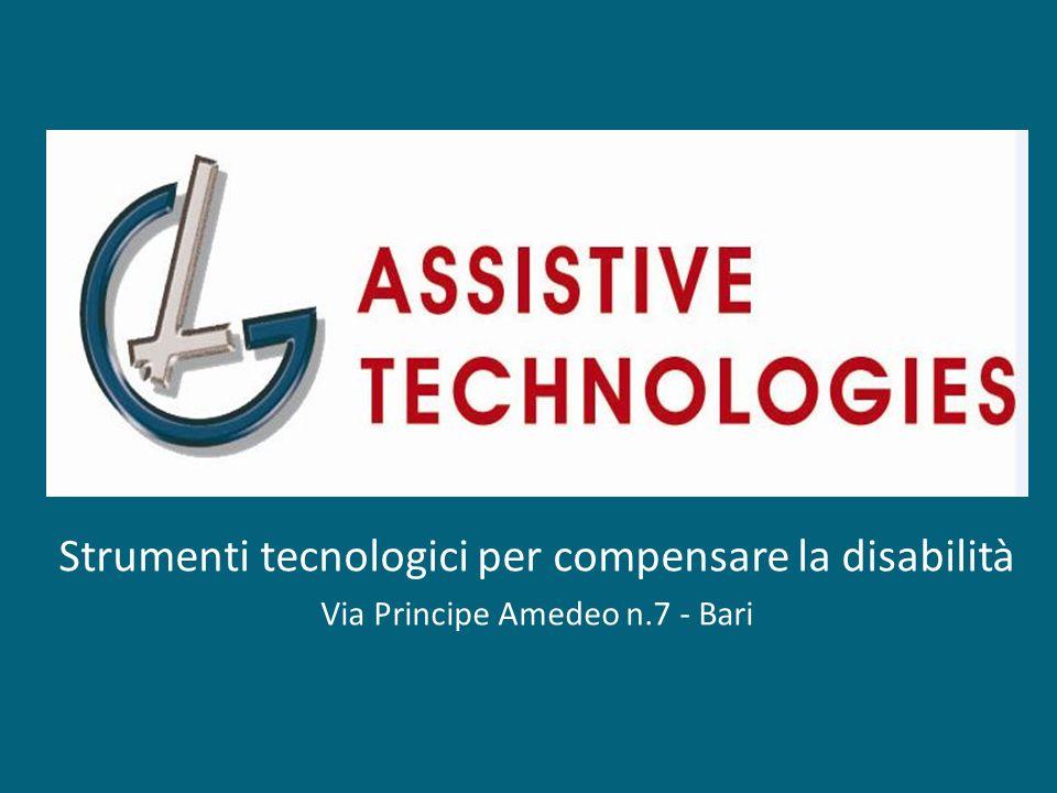 Strumenti tecnologici per compensare la disabilità