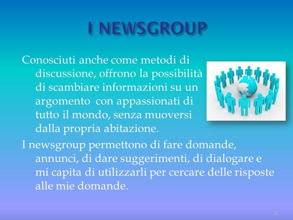 I NEWSGROUP