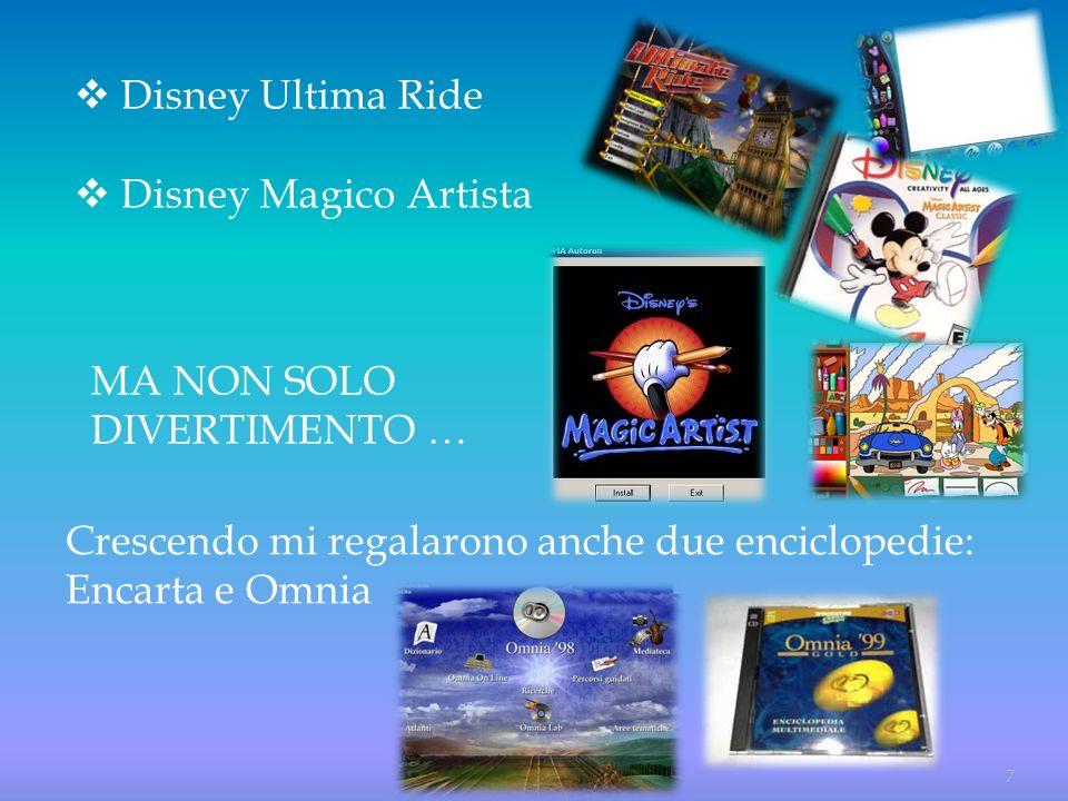Disney Ultima Ride Disney Magico Artista.