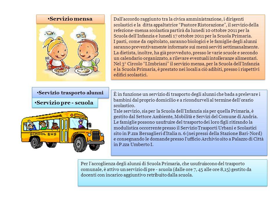 Servizio trasporto alunni