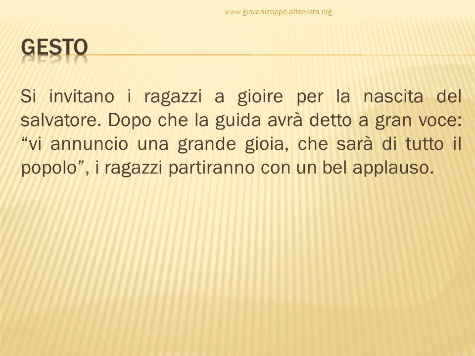 www.giovanizoppe.altervista.org GESTO.