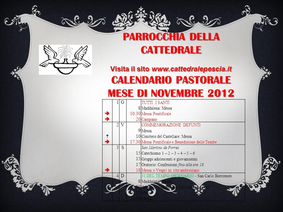 Visita il sito www.cattedralepescia.it