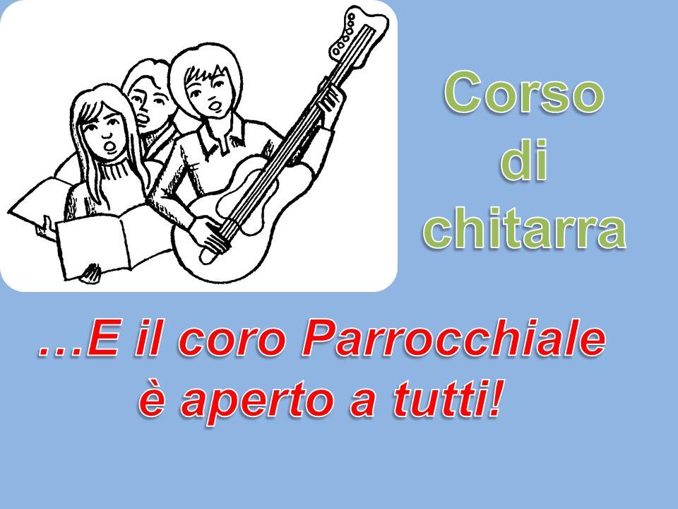 …E il coro Parrocchiale