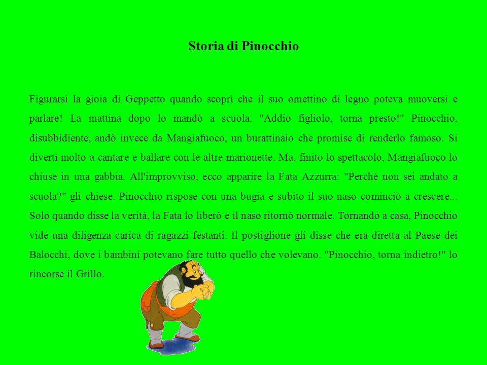 Storia di Pinocchio